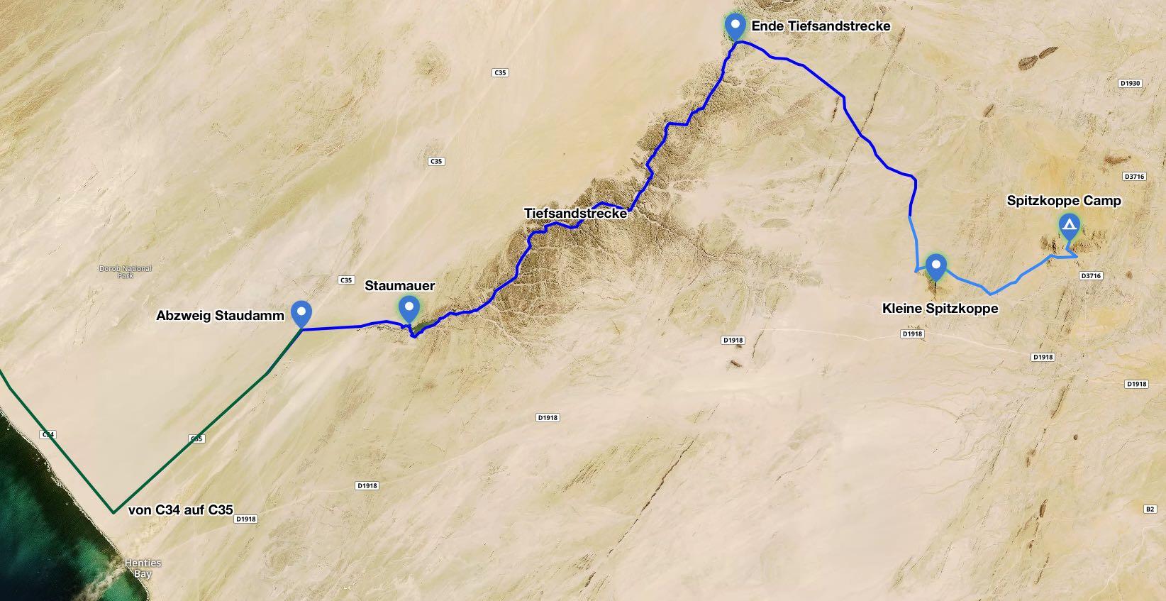 Omaruru River 4x4 Trail